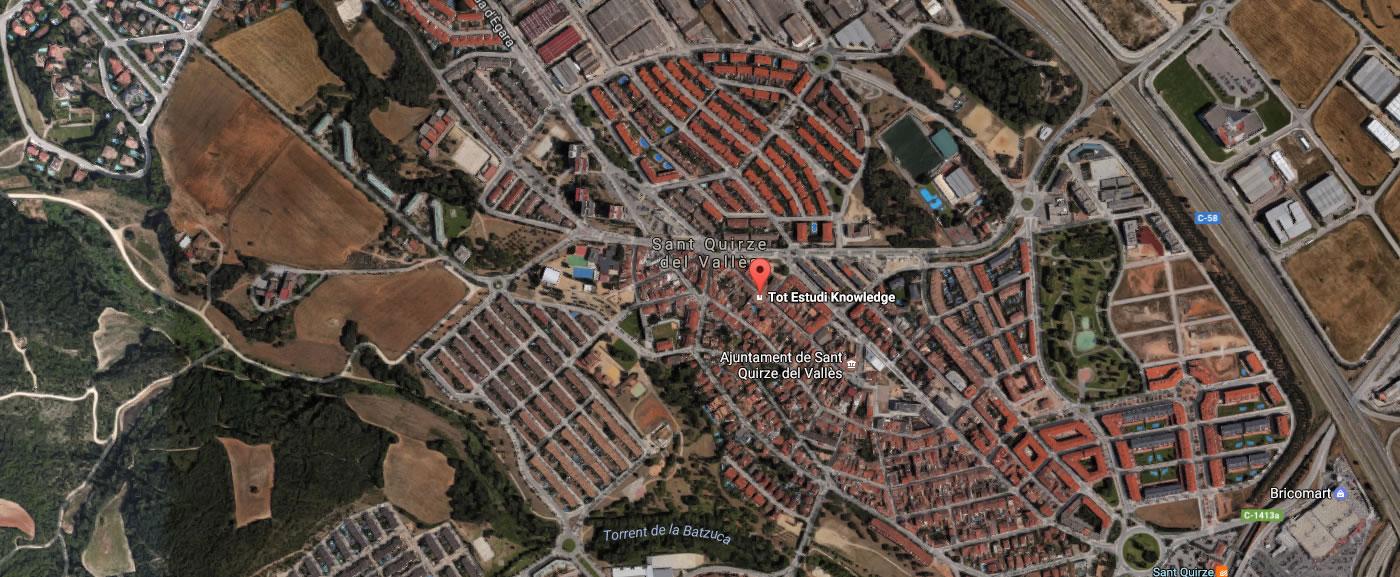 TOTESTUDI TEK academia sant quirze del valles barcelona mapa cursos presencials